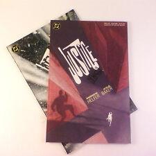 Justice Inc (1989) Complete Set of 2 (#1-2) NM Baker, Prestige Format