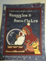 Kenna&Donna Designs Snuggles&Snowflakes Tole Painting Craft Book Holiday Pattern