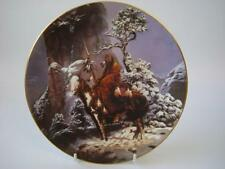 HAMILTON COLLECTION AMERICAN INDIAN MYSTIC WARRIERS MYSTIC WARRIER PLATE