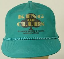 King of Clubs Riverside Resort NV vintage snapback Baseball Hat Cap Adjustable