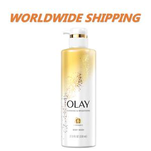 Olay Brightenin Body Wash for Women w/ Vitamin C 17.9 Fl Oz FREE WORLDWIDE SHIP