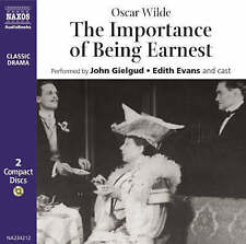 The Importance of Being Earnest by Oscar Wilde (CD-Audio, 2005)