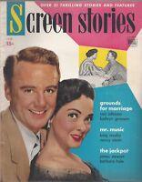 Screen Stories magazine January 1951 Van Johnson Kathryn Grayson Bing Crosby