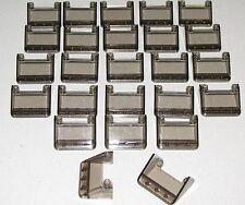 Lego Packung mit 25 Neu Windschutzscheiben 3 x 4 x 1 1//3 Auto Teile