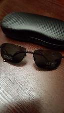 86544574351 Sunglasses IZOD PFX Polarized Sunglasses 100% UV Protection Memory Metal  Coal