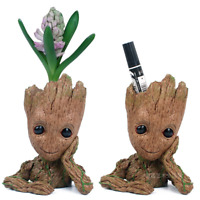 Groot Figure Guardians Of The Galaxy Baby Flowerpot Style Pen Pot Toy Best Gifts