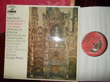 SAINT-SAENS: Symphony n°3 > Duruflé organ Prêtre / EMI 2C France stereo LP exc