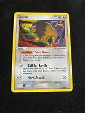 Pokemon Card - Tauros - EX Crystal Guardians - Rare Holo - 12/100 - Mint NM