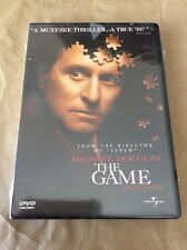 The Game ,1998, Factory sealed. Dvd.Michael Douglas.