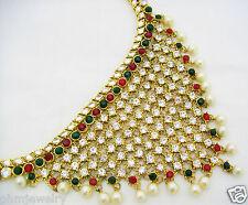 Indian Bridal Waist Belt Saree Belly Hip Chain Wedding Dance Bollywood Jewelry
