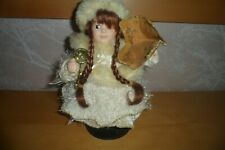 Vintage Musical Christmas Doll / Decoration