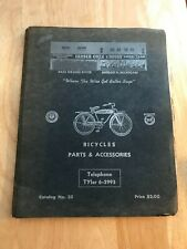 Antique 1958 Bike Parts and Sales Guide Raleigh Columbia Delta Detroit (887)