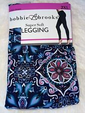 Bobbie Brooks Super Soft Printed Leggings Geometric Size 2XL ( 20 )