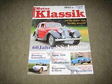 Motor Klassik Magazin 11/1995, Jaguar SS, Saab 99 - 900, Alpine A 110, Hanomag