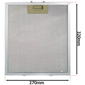 Grease Filter for BAUMATIC HOMEKING Cooker Hood Extractor Vent 320mm x 270mm