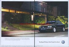 Volkswagen Passat TDI Sport 2003 Double Page Magazine Advert #43