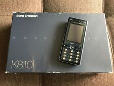 Sony Ericsson K810i - Blue (Unlocked) Smartphone *VINTAGE*COLLECTIBLE*