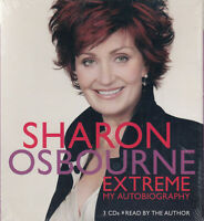 Sharon Osbourne Extreme My Autobiography 3CD Audio Book NEW* Abridged FASTPOST