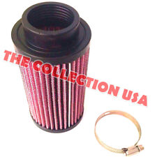 (1) K&N STYLE AIR POD FILTER FOR YAMAHA BANSHEE YFZ350 FITS STOCK 26MM CARB