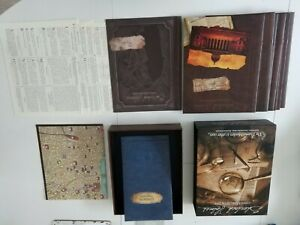 Sherlock Holmes Consulting Detective The Thames Murder + other cases board game