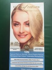 Permanent Hair Color, Tints of Nature, 4.4 oz 1 pack Natural Platinum Blonde 10N