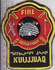 First Nation Fire Department Canada Kuujjuaq Inuit Fire Department Northern Queb