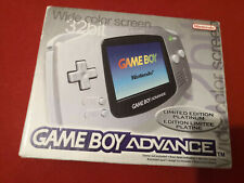 Gameboy Advance Limited Edition Platinum Boxed