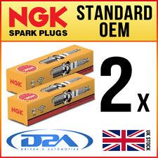 2x NGK BR6HS (3922) Standard Spark Plugs For COSSACK Jupiter 73-->79