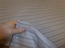 Job Lot - 10m rolls of STONE BEIGE - Striped Weave Upholstery Fabric