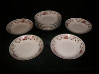 Lot Of 9 Sheffield Anniversary Porcelain Fine China Dessert Bowls