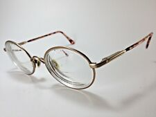 Luxottica Vegas Prescription Eyeglasses Litecopper Metal/Plastic Tortoise 135