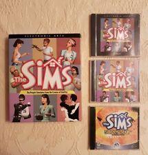 The Sims 1 PC CD Rom Big Box Edition - EA Maxis WIndows 95 98 - 2000