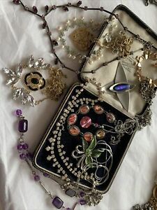 Collection Job Lot of Vintage 1950s/60s/70s /80s Necklaces