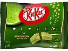 ☀ Nestle Kit Kat Chocolate Wafer Japanese Green Tea Macha x12 mini pack Japan ☀