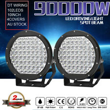 90000w 10INCH LED cree Driving Lights Spotlights spot beam Work Lamp Offroad 4wd