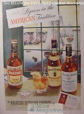 RARE 1943 Esquire Advertisement AD MR. BOSTON BURTON's BOURBON SUPREME