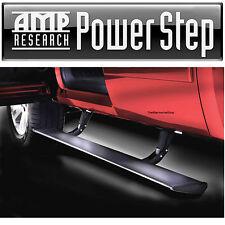 AMP Power Retractable Step Bars Lighted 2007-2013 Chevy Silverado 1500 EC CC