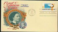 Clara Barton Great American Woman 1975  Fleetwood Special Cachet Unaddressed