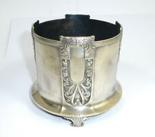 Art Nouveau Bottle Stand Bronze Silver Plated WMF um 1900