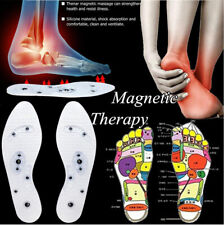 Acupressure Slimming Magnetic Shoe Insoles Foot Massager Therapy Weight Loss