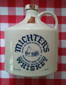 Michter's Whiskey 1976 Bicentennial Commemorative Ceramic Quart Jug EMPTY