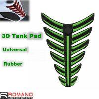 Universal Green Motorbike Fuel Tank Protector Sticker Pad Fit KAWASAKI Scooter