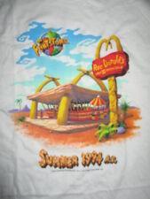 """Hanna Barbara FRED FLINTSTONE """"Roc Donald's"""" SUMMER 1994 A.D. (XL) T-Shirt"""