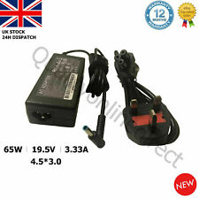 GENUINE 19.5V 3.33 4.5*3.0mm 65W HP Laptop Charger Adaptor Blue Tip 15-P245SA
