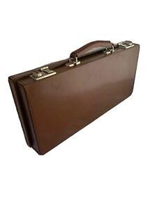 Vintage Leather Case Instrument MCM FTJ