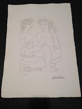 """Picasso """"Suite Vollard"""" Bloch #212, Limited Edition, Picasso Family Authorized."""