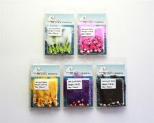 50 1/16oz NEW Marabou Crappie Panfish Jigs Fishing Lures Hooks 5 Colors Lot
