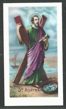 Holy card de San Andres A. santino andachtsbild image pieuse estampa