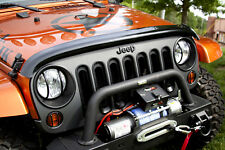 Jeep Wrangler  Hood Bug / Stone Deflector  JK 07-17 11350.02 Rugged Ridge