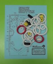 1984 Williams Space Shuttle pinball rubber ring kit